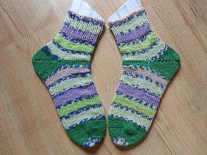Obuv - Ponožky lavandel - 9683989_
