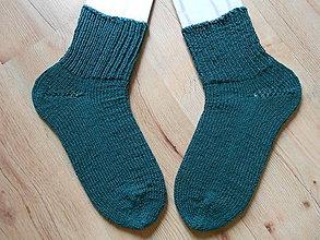 Obuv - Ponožky zelené - 9684074_