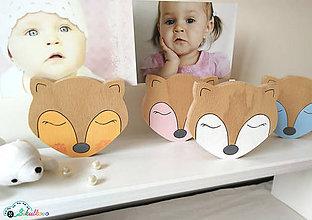 Detské doplnky - dekorácia - Roztomilé zvieratká (líška) - 9683570_