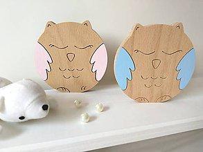 Detské doplnky - dekorácia - Roztomilé zvieratká (sova) - 9683580_