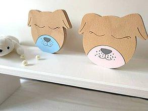 Detské doplnky - dekorácia - Roztomilé zvieratká (psík) - 9683587_