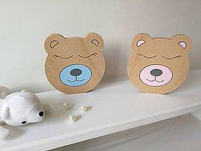 Detské doplnky - dekorácia - Roztomilé zvieratká (medvedík) - 9683591_