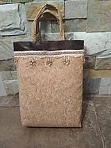 Veľké tašky - Taška korková AMIRA (magnet.zap) - 9685802_