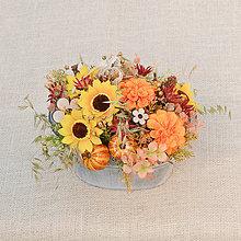 Dekorácie - Letná dekorácia so slnečnicami - 9685835_