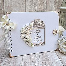 Papiernictvo - Svadobná kniha hostí - 9685128_