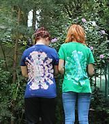 Tričká - Batikované tričko indiánska mandala - 9685068_