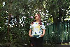 Tričká - Drum and bass batika - 9685186_