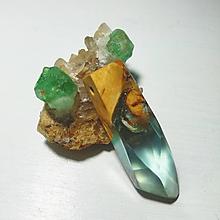 Náhrdelníky - Modrý šperk - 9683062_
