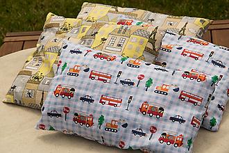 Úžitkový textil - Detský vankúšik  (Cestná premávka) - 9685495_