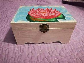 Krabičky - Šperkovnica Lily - 9685838_