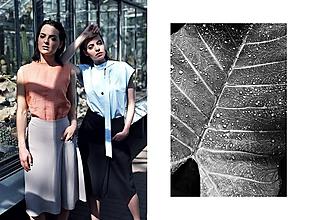 Sukne - Voľná sukňa pod kolená - 9684573_