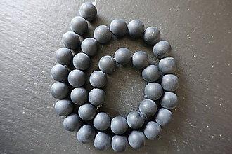 Minerály - Achát krajkový 10mm / 38ks - 14 - 9683374_