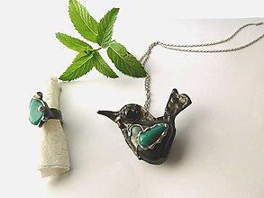 Sady šperkov - Set - Láska k vtákom - 9688839_