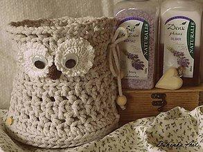 Úžitkový textil - Košíček SoFkA - 9687857_
