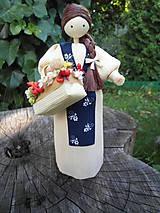 Dekorácie - Šúpolienka - kvetinárka - 9686989_