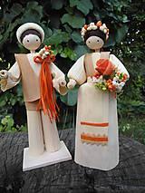 - Šúpolienky svadobný pár - 9687404_