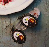 Náušnice - Bumpkinovej šperk/ Moja planéta - 9688293_