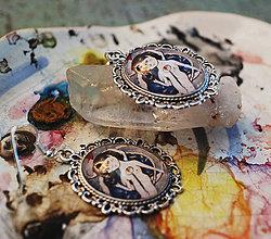 Náušnice - Bumpkinovej šperk/ Srdce preč - 9688272_