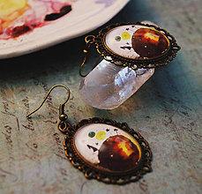 Náušnice - Bumpkinovej šperk/ Moja planéta - 9688292_