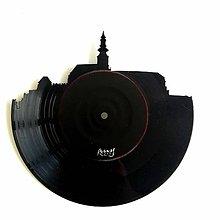Obrázky - Nitriansky Hrad 17 cm - vinylové hodiny - 9686387_