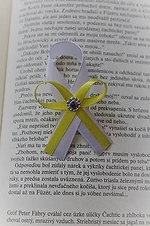 Pierka - Svadobné pierko žlté - 9688298_
