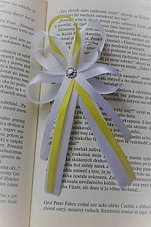 Pierka - Svadobné pierko pre rodiča žlté - 9688324_
