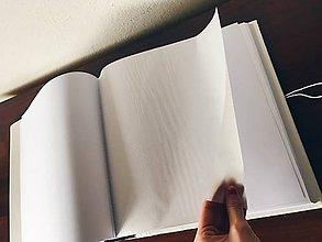 Papiernictvo - Natural (Klasický na rožky 100 strán 30x30cm) - 9686264_