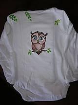 Detské oblečenie - Farebná Sovička - 9688841_