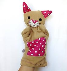 Hračky - Maňuška mačka - Cica z Ružového pelieška - 9685925_