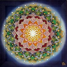 Obrazy - Mandala...Harmónia života - 9689385_