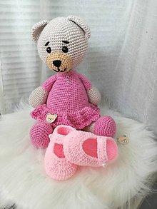 Topánočky - Ružové papučky - 9687030_