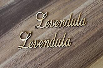 Polotovary - výrez Levandula - 9686803_