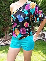Nohavice - Pohodlné strečové kraťasky - 9687222_