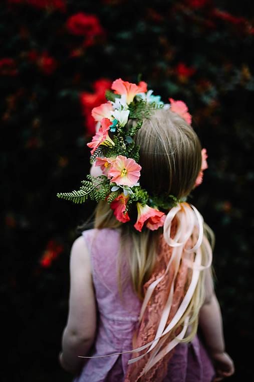 """Kvetinový venček """"letná nálada"""""""