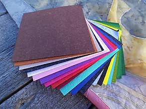 Textil - Filc 10x10 cm - 20ks - 9687974_