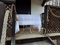 Úžitkový textil - Ľanový obrus Charming Cottage - 9689106_