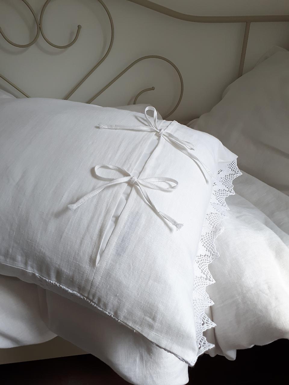 Ľanové posteľné obliečky Charming Cottage