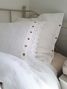 Úžitkový textil - Ľanové posteľné obliečky Charming Cottage - 9689053_