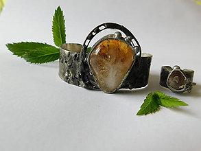 Sady šperkov - Set - Lipový med s včelou - 9690776_