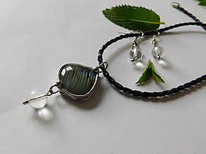 Sady šperkov - Set - Krištáľové jazierko - 9690957_