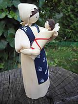 Dekorácie - Šúpolienka s  bábätkom - 9690120_
