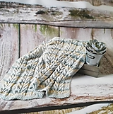 Úžitkový textil - Detská deka nielen do kočíka  - 9690626_