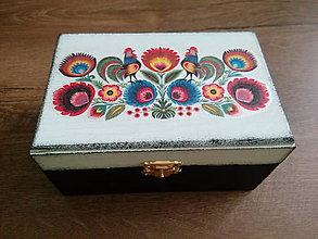 Krabičky - Folk krabička - 9691888_