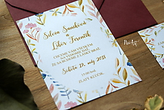 Papiernictvo - Svadobné oznámenie 42 - 9690898_