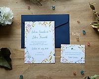 Papiernictvo - Svadobné oznámenie 43 - 9690926_
