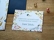 Papiernictvo - Svadobné oznámenie 43 - 9690928_