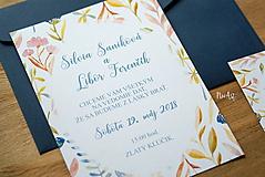 Papiernictvo - Svadobné oznámenie 43 - 9690932_