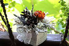 Dekorácie - Kvetinová krabička, zľava !!! - 9690026_