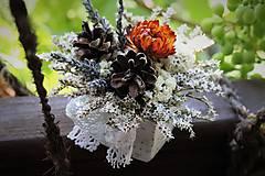 Dekorácie - Kvetinová krabička - 9690027_