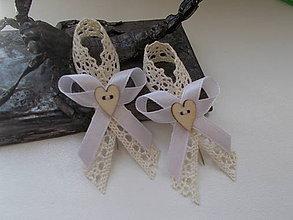 Pierka - vintage svadobné pierko X. - 9690262_